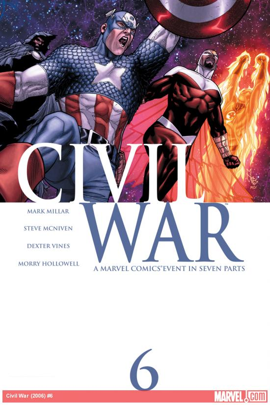 Cover: Civil War (2006) #6