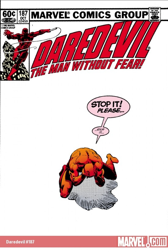 DAREDEVIL #187 COVER