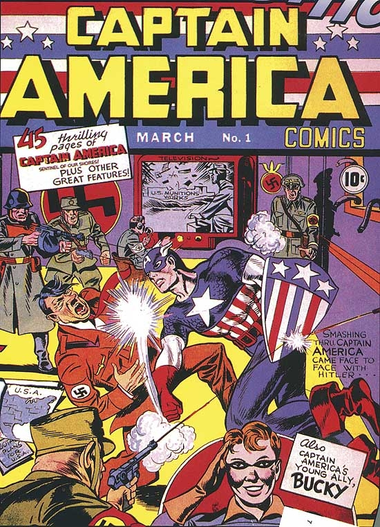 MARVEL MASTERWORKS: GOLDEN AGE CAPTAIN AMERICA VOL. 1 COVER