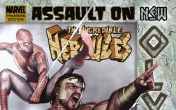 Incredible Hercules: Assault on New Olympus (Hardcover)