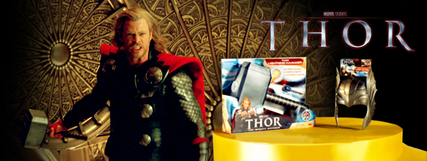Watch the Thor Lightning Hammer Hasbro Trailer
