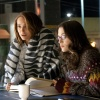 Natalie Portman and Kat Dennings star as Jane Foster and Darcy in Thor