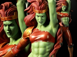Sideshow Collectibles' She-Hulk Comiquette