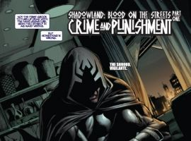 Shadowland: Blood on the Streets #1 preview art by Wellinton Alves