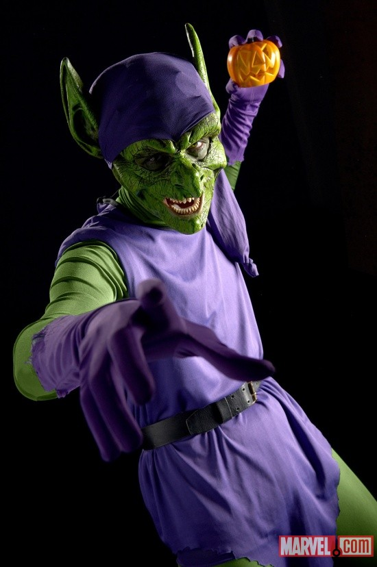 Marvel Cosplay: Mark Meer as Green Goblin