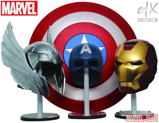 eFX Avengers prop replicas preview image