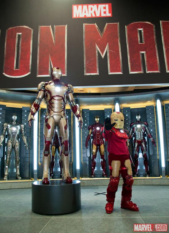 SDCC 2012: Iron Man 3 Kids Costuming Event on the Marvel Stage