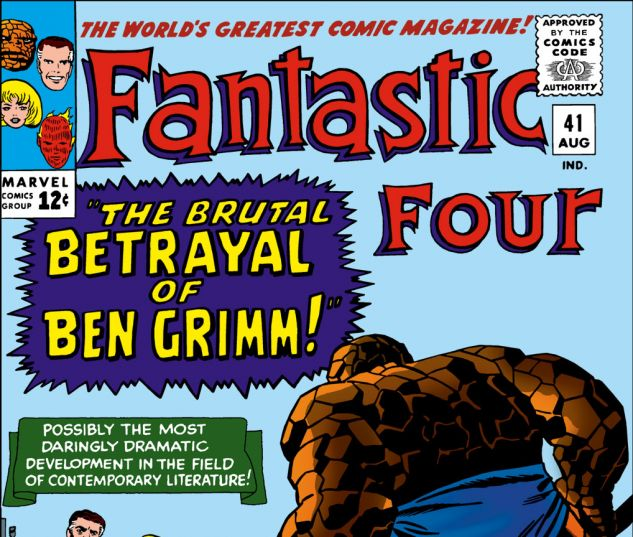 Fantastic Four (1961) #41 Cover