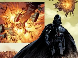 Star Wars: Vader Down by Mike Deodato