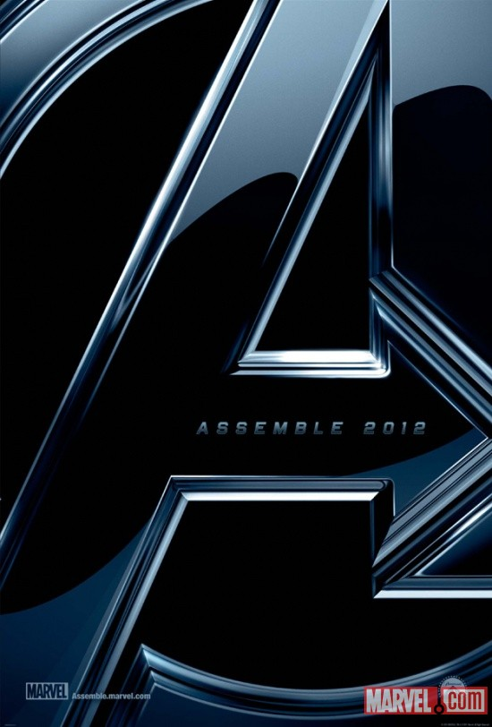 Sneak Peak at The Avenger's Movie Poster