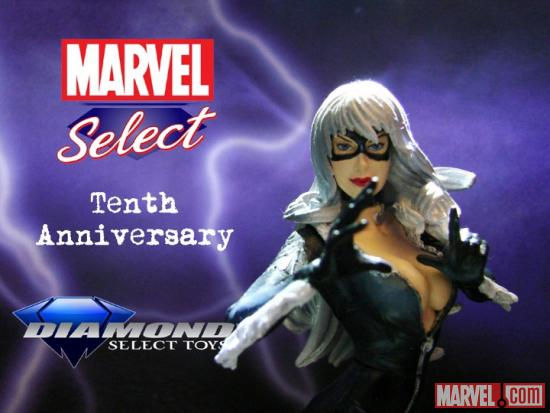 Marvel Select 10th Anniversary Black Cat Contest Image
