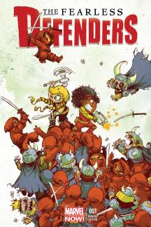Fearless Defenders #1  (Young Variant)