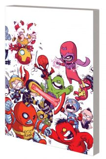 Young Marvel: Little X-Men, Little Avengers, Big Trouble (Trade Paperback)