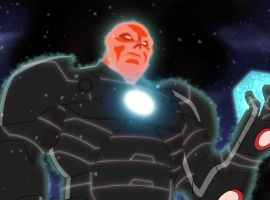 Red Skull wields the Cosmic Cube in Marvel's Avengers Assemble - By the Numbers