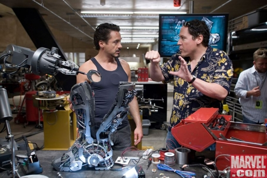 Robert Downey Jr. and Jon Favrea talk behind-the-scenes