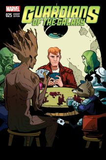 Guardians of the Galaxy #25  (Henderson Wom Variant)