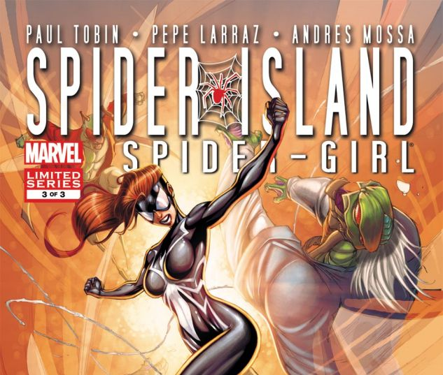 SPIDER-ISLAND: THE AMAZING SPIDER-GIRL (2011) #3 Cover