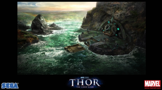 Thor: The Video Game concept art