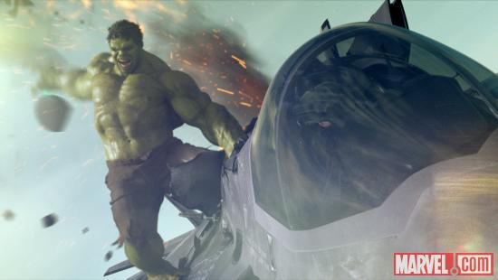 Hulk (Mark Ruffalo) in Marvel's The Avengers