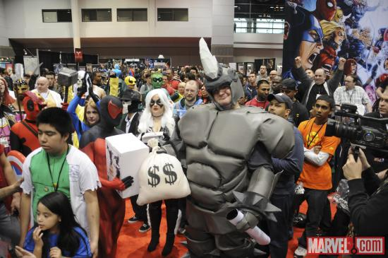 C2E2 2012: Winner of the Costume Contest, Rhino