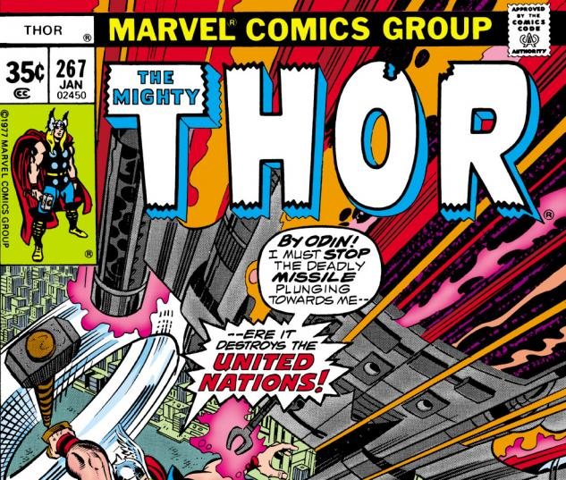 Thor (1966) #267 Cover