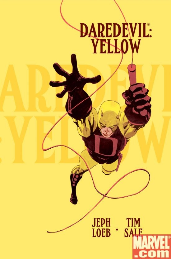 DAREDEVIL: YELLOW by Jeph Loeb and Tim Sale