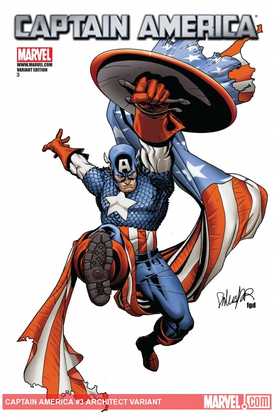 Captain America (2011) #3, Architect Variant