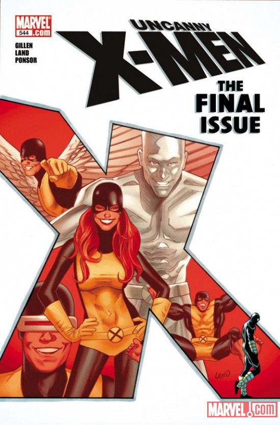 Uncanny X-Men #544 cover by Greg Land