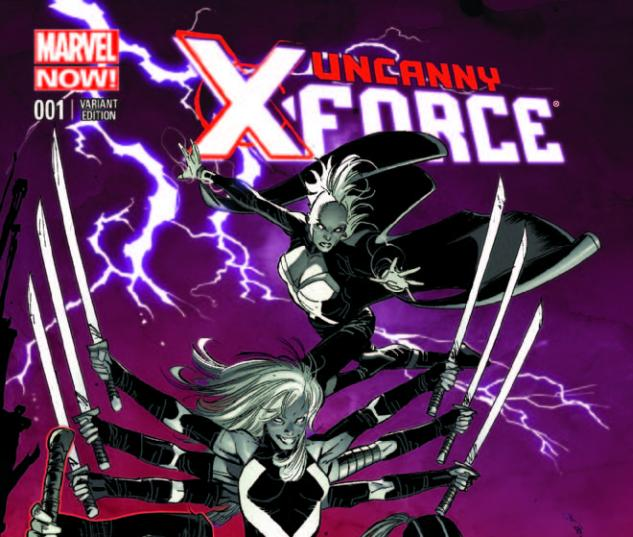 UNCANNY X-FORCE 1 GARNEY VARIANT