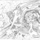 Nova (2013) #4 preview pencils by Ed McGuinness