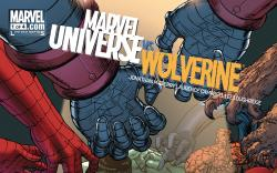 Cover from Marvel Universe Vs. Wolverine #1 