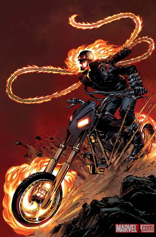 Ghost Rider (2011) #1 cover by Neal Adams