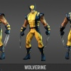 Wolverine model sheet from the Marvel Universe MMO