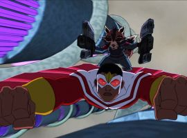 Rocket Raccoon & Falcon team-up in Marvel's Avengers Assemble