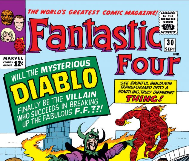 Fantastic Four (1961) #30 Cover