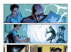 YOUNG AVENGERS PRESENTS #1 interior art by Paco Medina