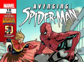 AVENGING SPIDER-MAN 10 (WITH DIGITAL CODE)