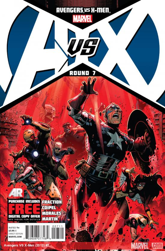Cover: Avengers VS. X-Men Issue #7