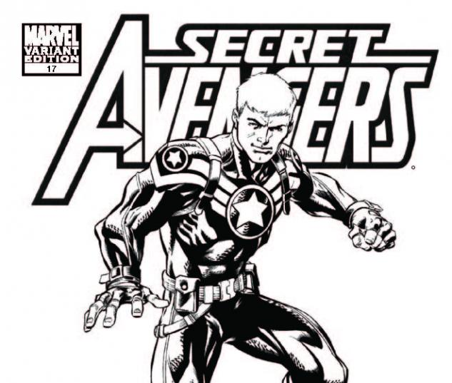 SECRET AVENGERS 17 ARCHITECT SKETCH VARIANT
