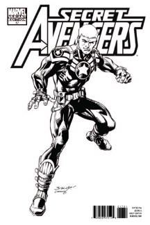 Secret Avengers (2010) #17 (Architect Sketch Variant)