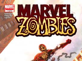 Cover from Marvel Zombies (2005) #1