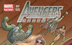 AVENGERS ASSEMBLE 17 CONNER VARIANT (NOW, 1 FOR 30, WITH DIGITAL CODE)