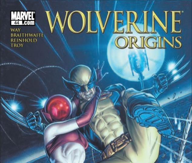 WOLVERINE ORIGINS #44 Cover by Doug Braithwaite