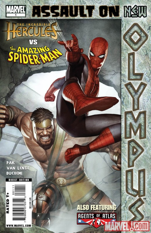 Assault on New Olympus Prologue One-Shot (2009) #1