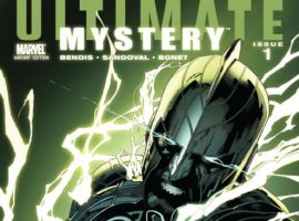 ULTIMATE COMICS MYSTERY #1 variant cover by Leinil Francis Yu