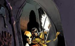 Power Man and Iron Fist (2011) #3 cover by Mike Perkins