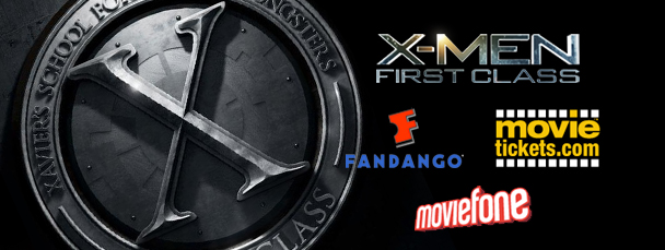 Buy X-Men: First Class Tickets Now