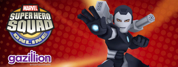 Super Hero Squad Online: Meet War Machine