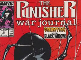 Punisher War Journal (1988) #9 cover