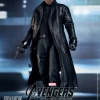 Nick Fury Sixth Scale Figure holding pistol (by Hot Toys)